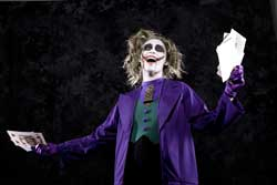 Carina as the Joker
